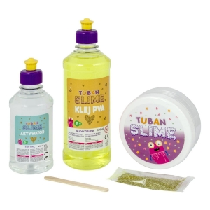 Zestaw super slime - Gold Shine XL